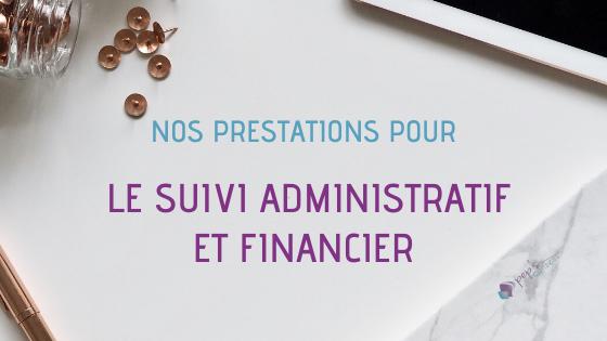 Suivi administratif et financier